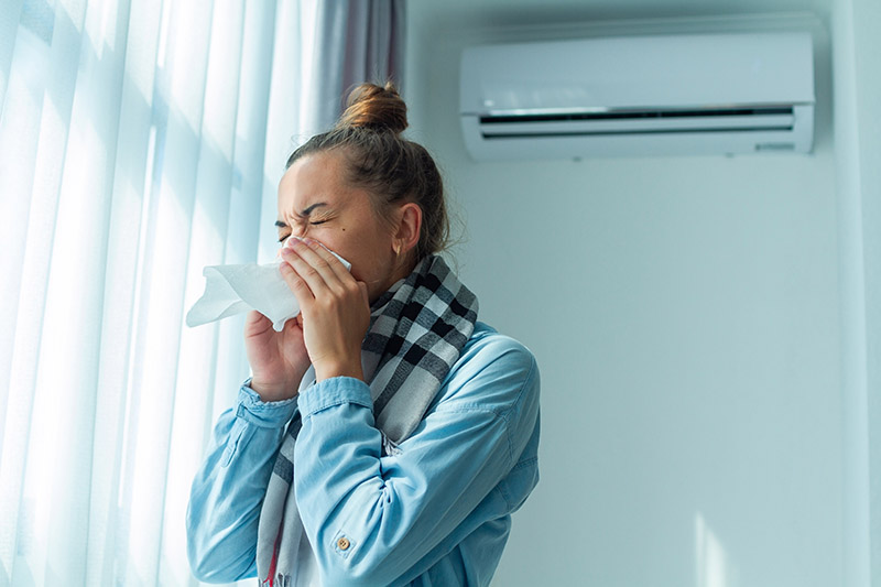 How Your Air Conditioner Can Reduce Spring Allergies